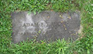 Gravestone Adam F Kauchis