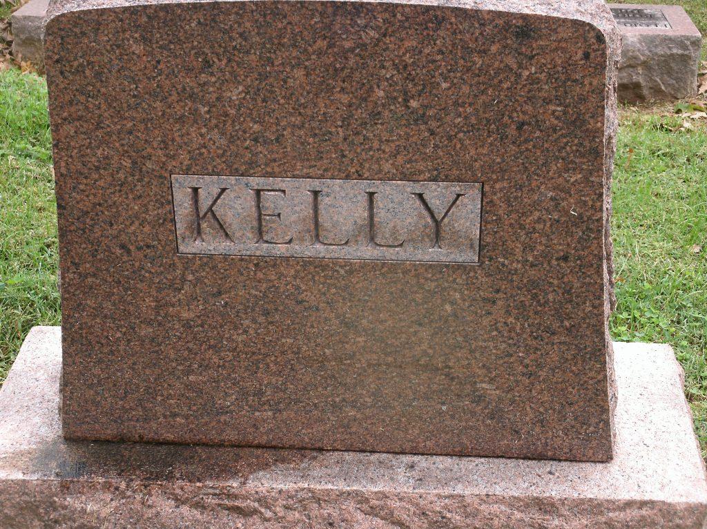 Gravestone Thomas W Kelly Jr New Lorimier Cemetery