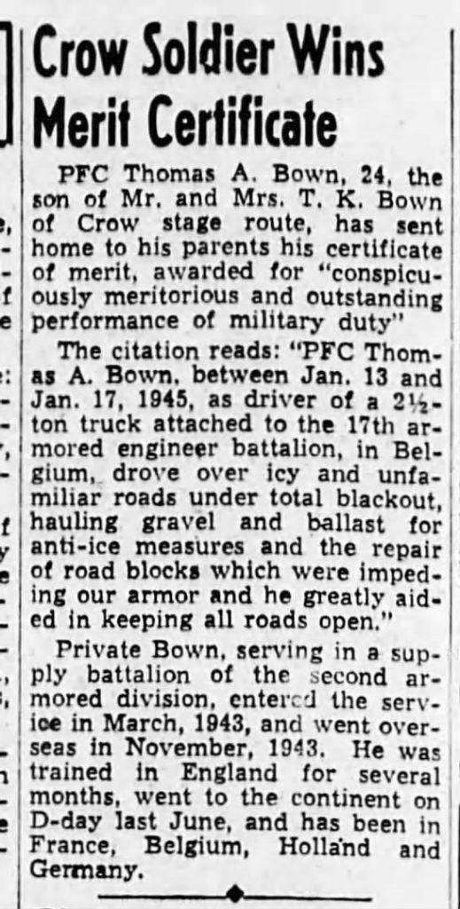 The Eugene Guard Eugene, Lane, Oregon 14 May 1945