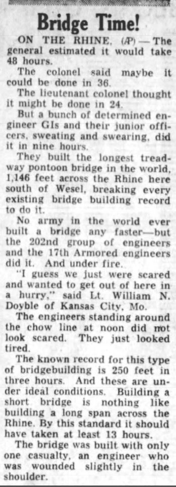 The Palm Beach Post West Palm Beach, Palm Beach, Florida, United States of America 26 Mar 1945