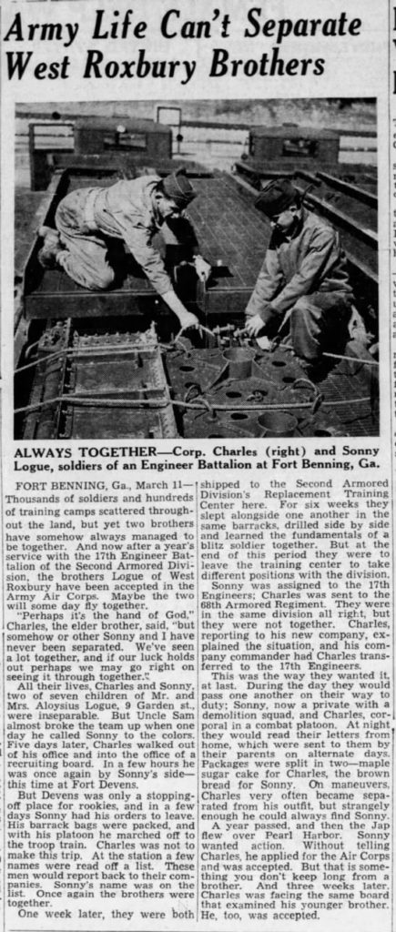 The Boston Globe (Boston, Suffolk, Massachusetts, United States of America) · 11 Mar 1942