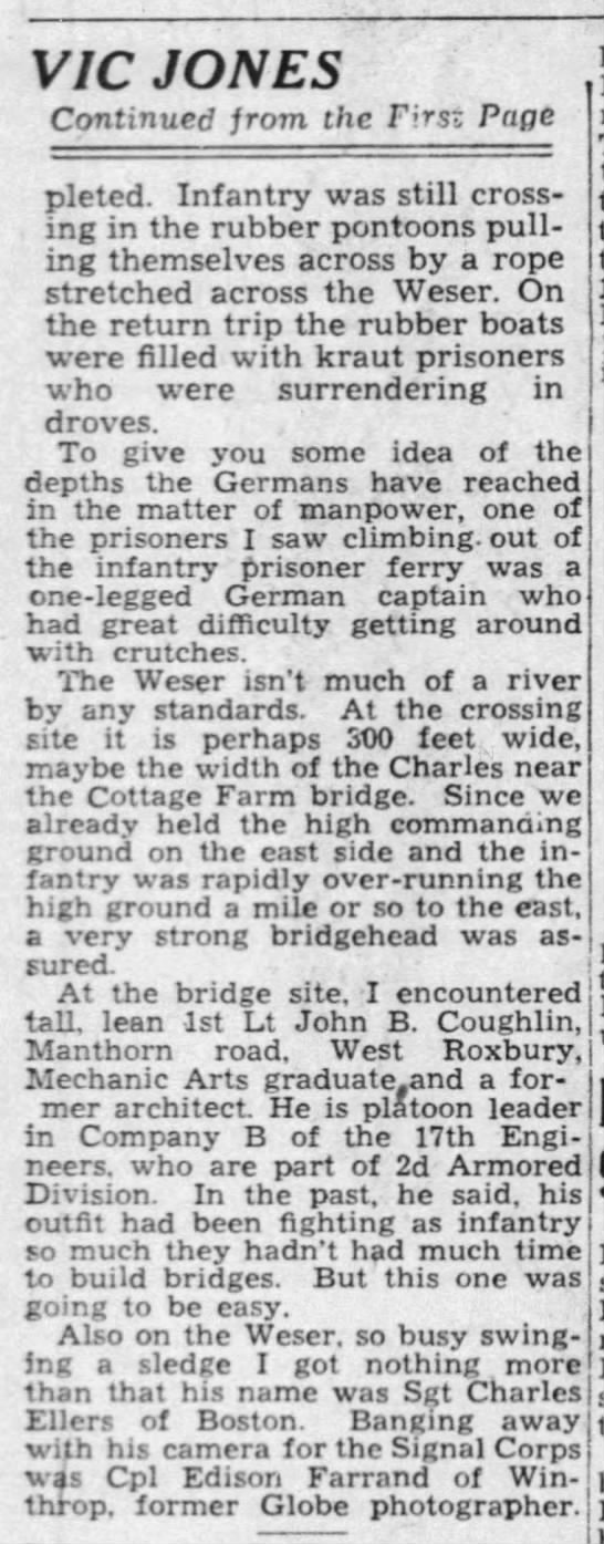 The Boston Globe (Boston, Suffolk, Massachusetts, United States of America) · 6 Apr 1945