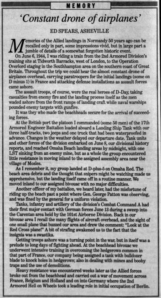Asheville Citizen-Times (Asheville, Buncombe, North Carolina, United States of America) · 6 Jun 1994