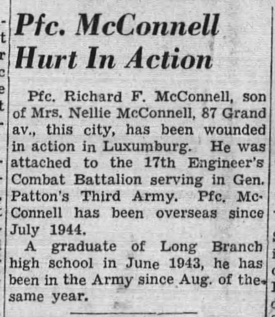 The Daily Record (Long Branch, New Jersey, United States of America) · 12 Mar 1945