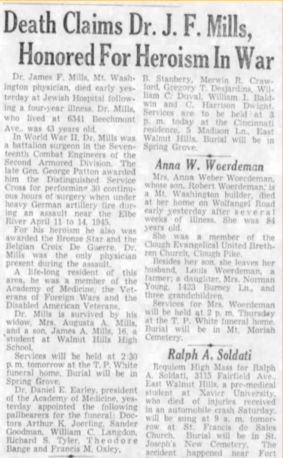 The Cincinnati Enquirer (Cincinnati, Hamilton, Ohio, United States of America) · 4 Aug 1953