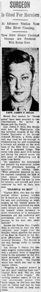 The Cincinnati Enquirer (Cincinnati, Hamilton, Ohio, United States of America) · 28 Sep 1945