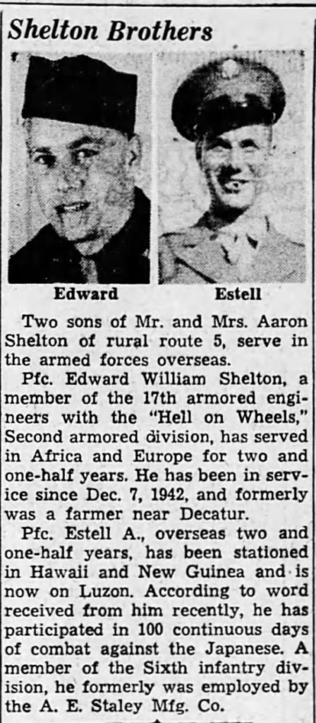 The Decatur Daily Review (Decatur, Macon, Illinois) · 21 May 1945