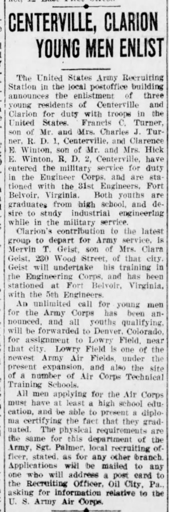 The News-Herald  (Franklin, Pennsylvania) 18 Jan 1941, Sat  • Page 9