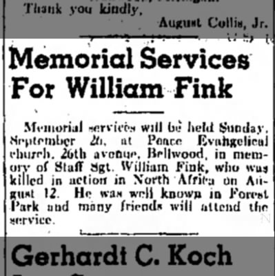 Review and Forest Parker (Forest Park, Cook, Illinois) · 23 Sep 1943
