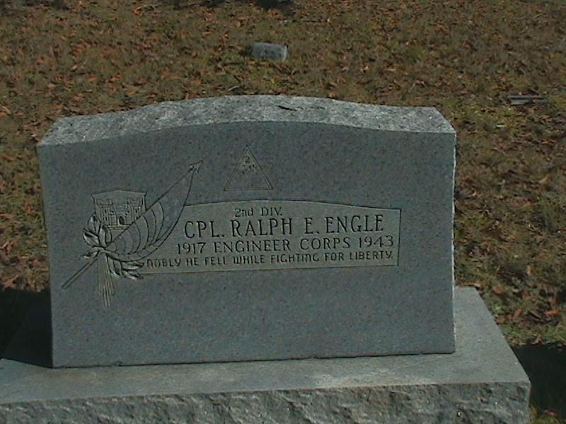 Corporal Ralph E Engle