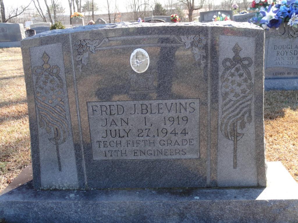 Fred J. Blevins (1919 1944