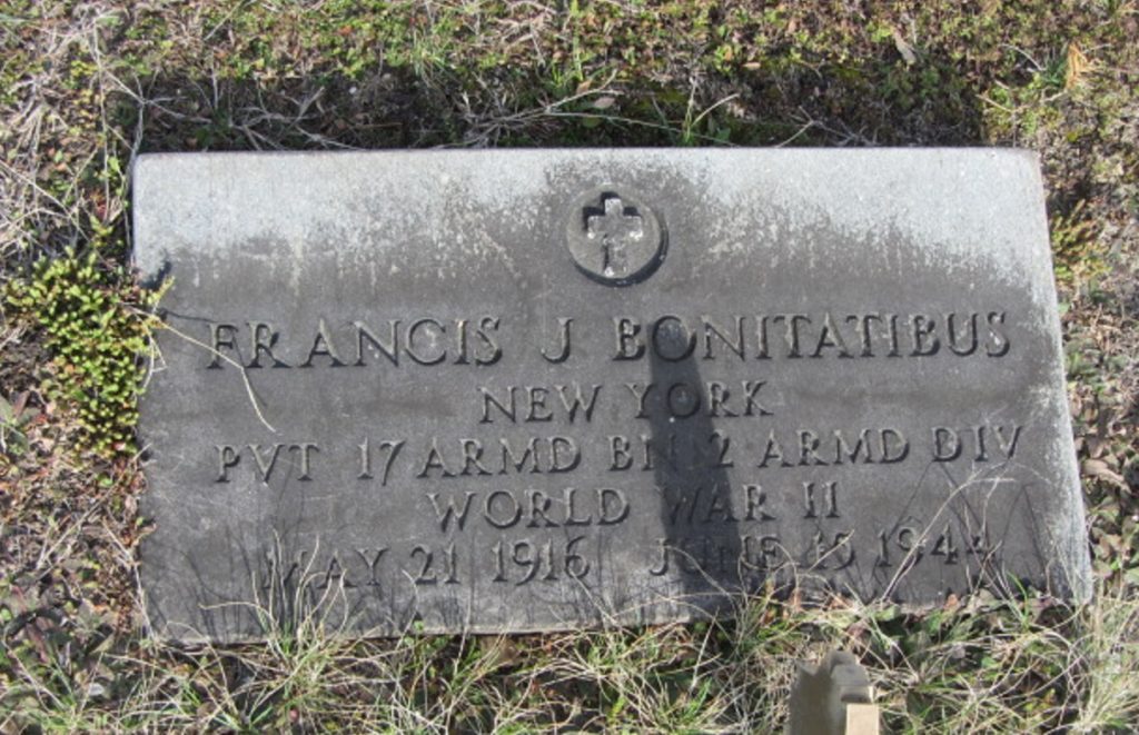 Gravestone Frank J Bonitatibus