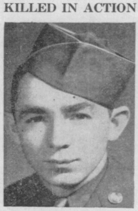 Staff Sergeant Peter Bacle 1922 - 1944