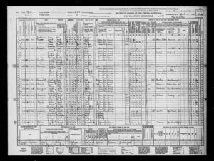 US Sensus 1940, Bronx New York