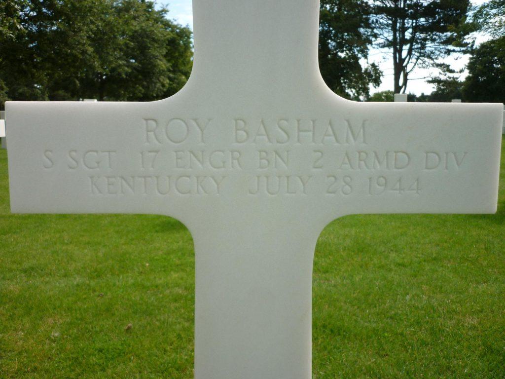 Gravestone Roy L Basham