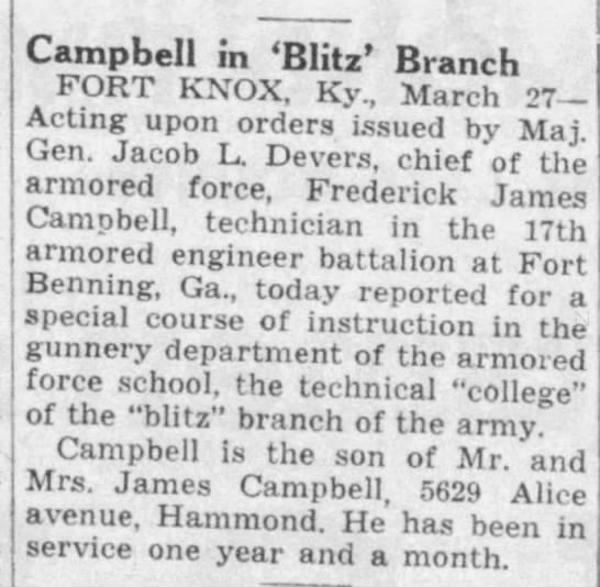 Frederick J Campbell Gunnary 2Frederick J Campbell Gunnary 2