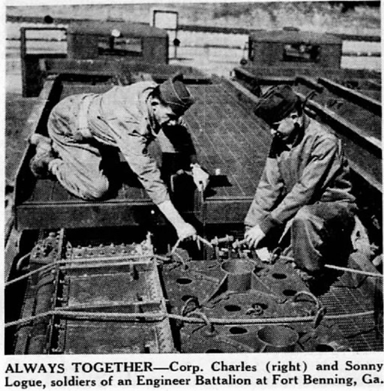 The Boston Globe Boston Suffolk Massachusetts, United States of America 11 Mar 1942 Charles and Sonny Logue MA