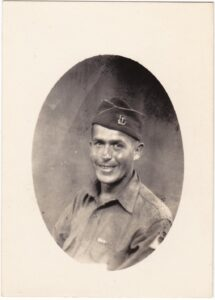 17th Armored Engineer Ernest W Struble in Africa