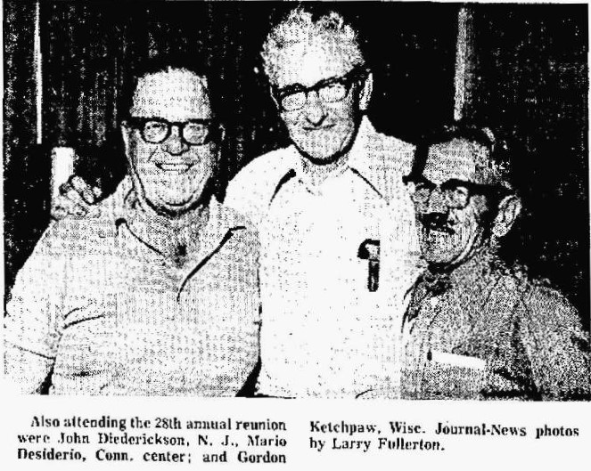 Article: Reunion 17th Armored Engineer Battalion, Company E - Hamilton News sept 2 1973 Source: Newspapers.com