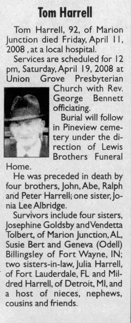 Pfc Tom Harell-The Selma Times-Journal (Selma, Alabama)18 Apr 2008, FriPage 5