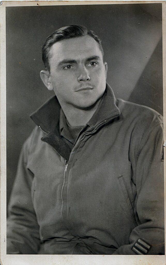 David Edd Hiett,  C Company, 17th Armored Engineers, Belgium March 1945 (Courtesy: Mark Hiett