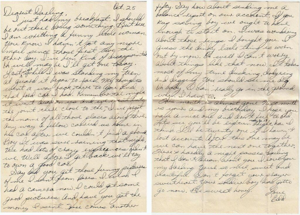Letter 10.25.1944