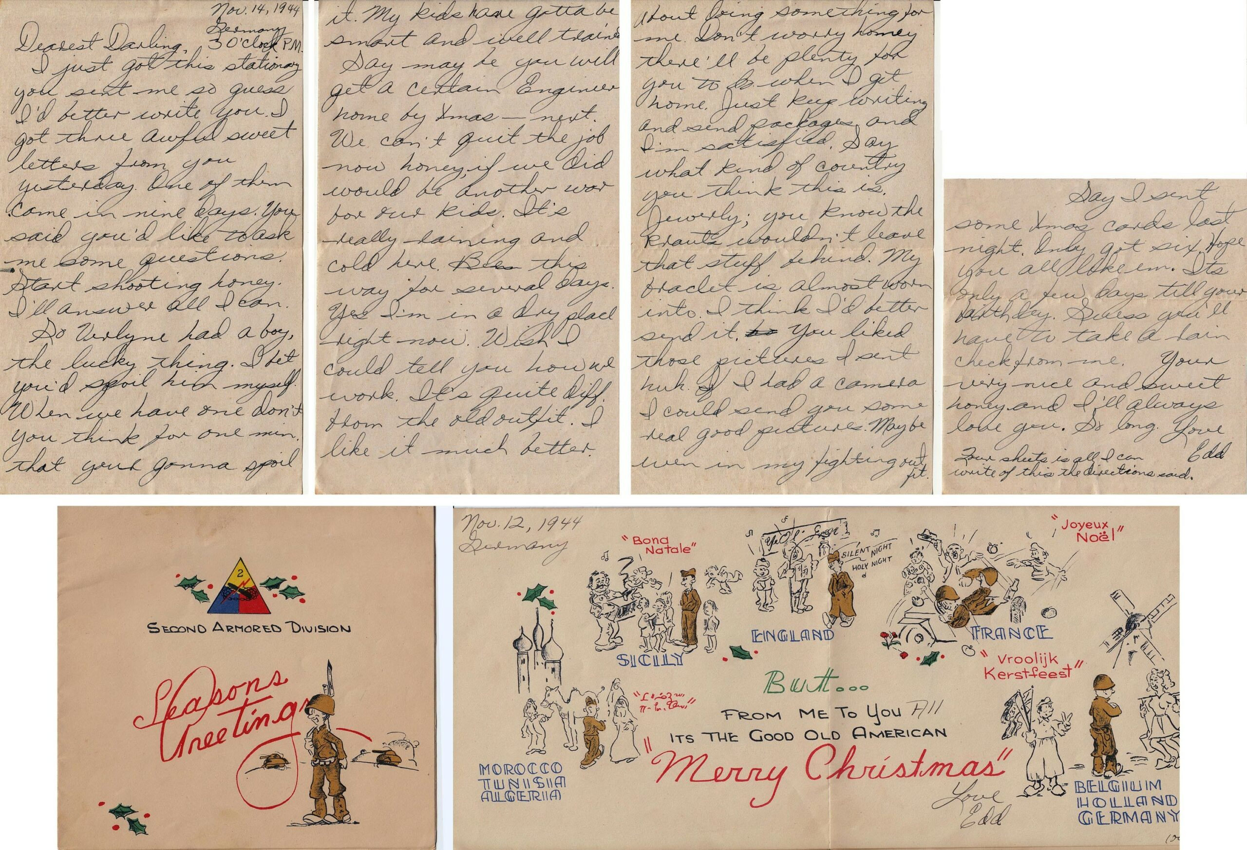 Letter 11.14.1944 (Courtesy Mark Hiett)