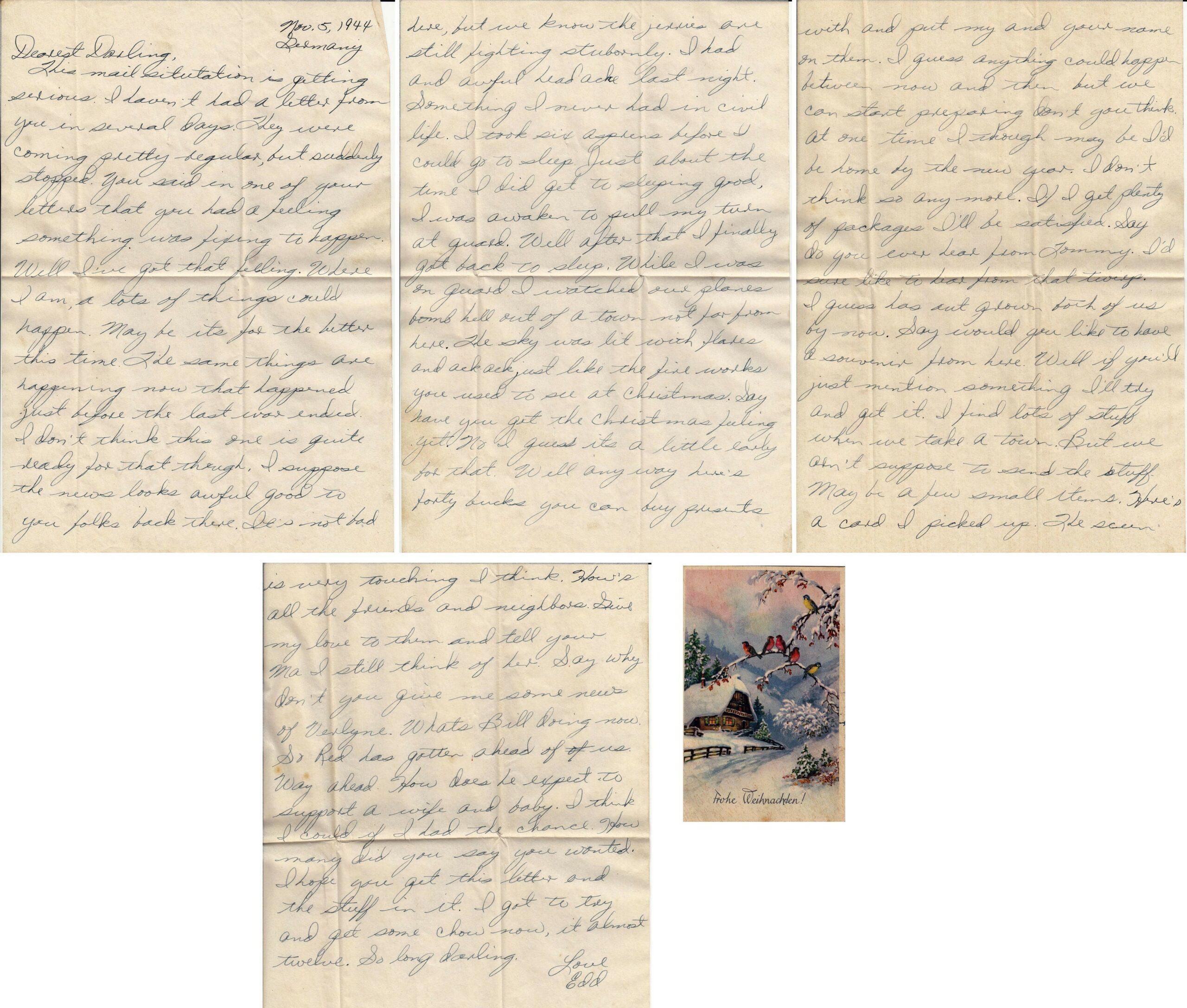 Letter 11.5.1944 (Courtesy Mark Hiett)