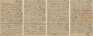 Letter 8.6.1945 (Courtesy Mark Hiett)