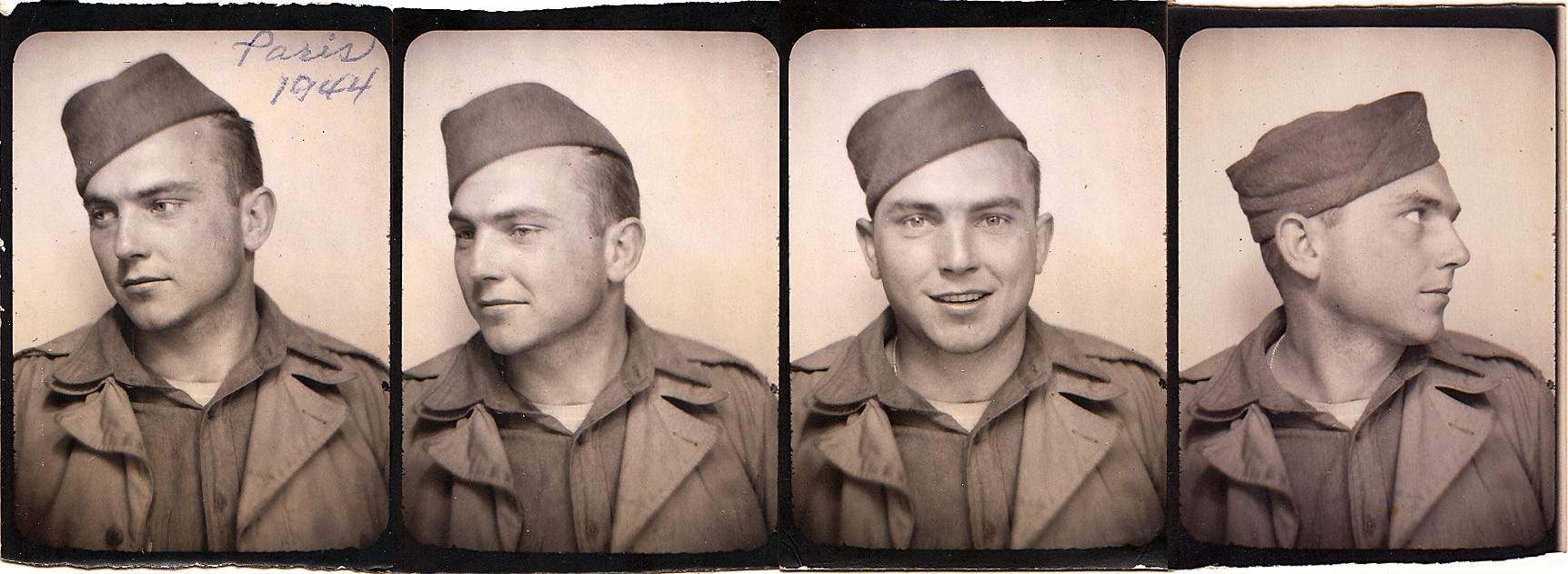 Photos of 17th Engineer David Edd Hiett - Paris December 1944