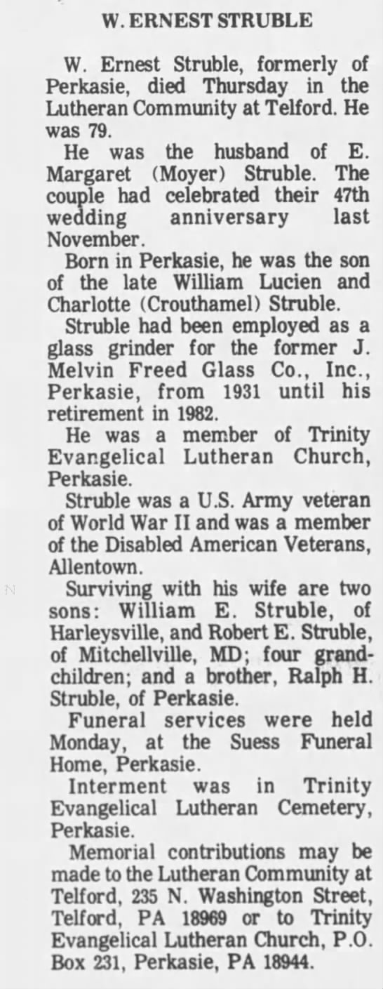 News Herald (Perkasie, Pennsylvania)17 Feb 1993, WedPage 4