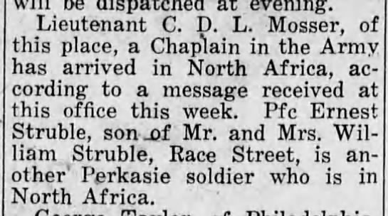 The Central News (Perkasie, Pennsylvania)31 Dec 1942, ThuPage 5