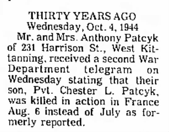 's Leader-Times (Kittanning, Pennsylvania)04 Oct 1974, FriPage 4 (newspapers.com)