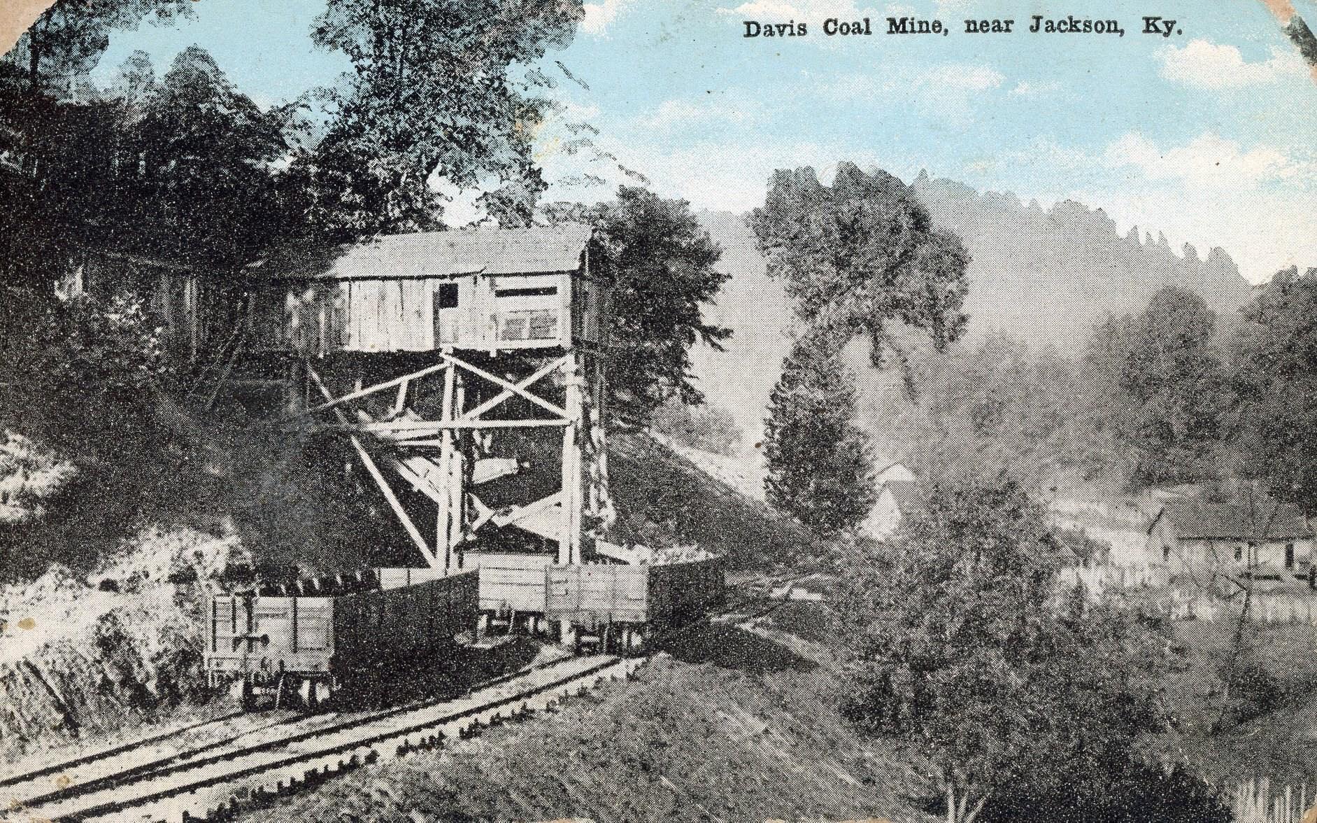 Davis Coal Mine, near Jackson, KY. (source Sandy Keith)